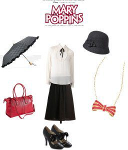 Shop your closet for these 5 Halloween Costumes on a budget Mary Poppins | Five Marigolds