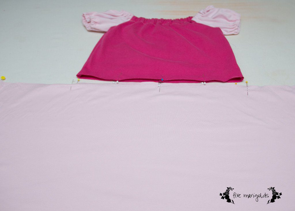 Such a cute idea! Upcycle t-shrits to make this adorable (and comfy) Sleeping Beauty princess dress!