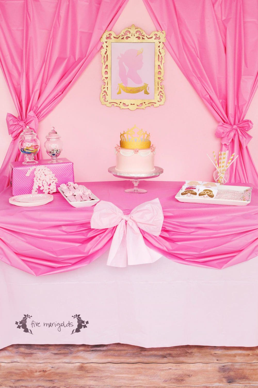 Complete Pink Princess Party For Less Than 20 Five