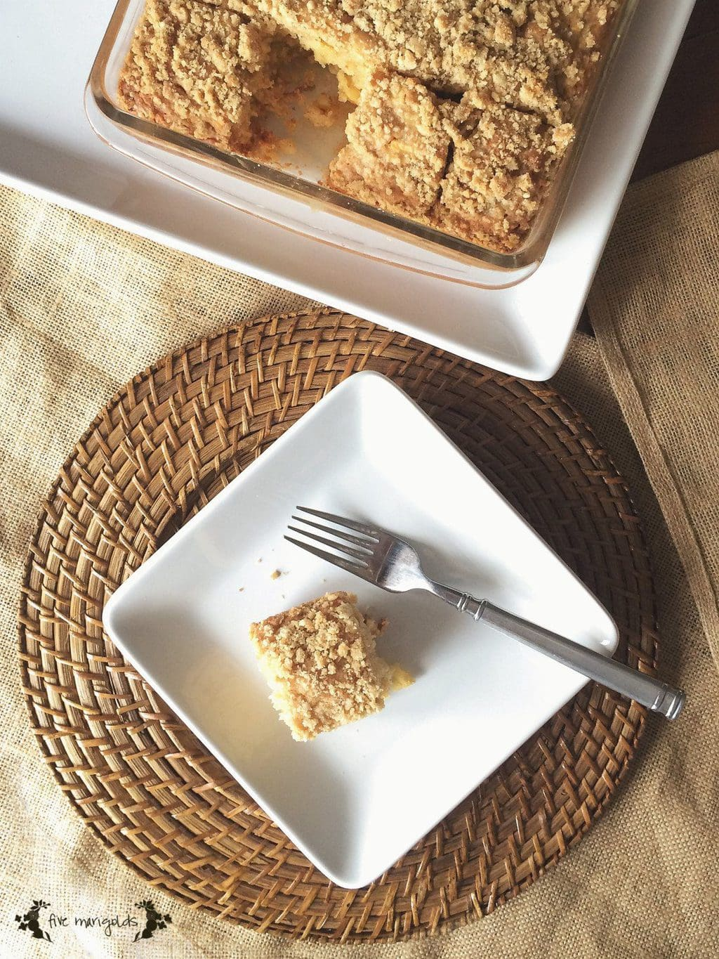 Apple Pie Bread | Five Marigolds