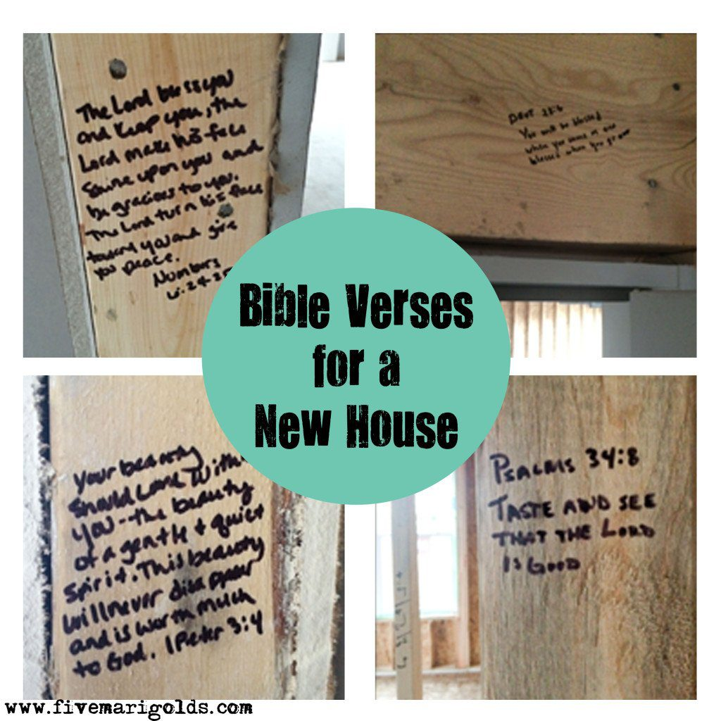 Bible Quotes For The Kitchen: Strong Foundations: Bible Verses For A New House