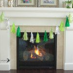 Minecraft Birthday Party Tinsel Tassel Banner Tutorial | Five Marigolds