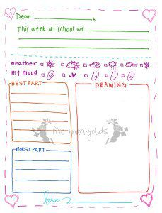 graphic regarding Letter Writing Template for Kids called Cost-free Printable Letter Creating Templates for Grandma, Pen Close friend