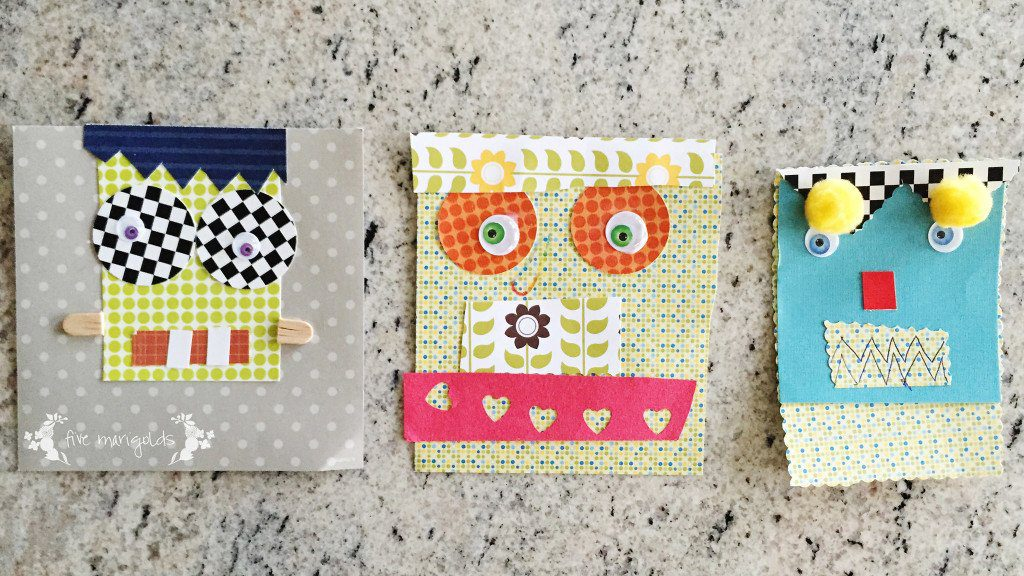 Nonguided Halloween Monster Craft | Five Marigolds