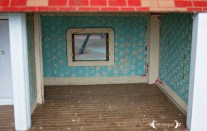 Vintage Doll House Makeover Before | Five Marigolds