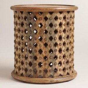 World Market Tribal End Table