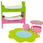 Lundby Furniture. Vintage Dollhouse Remodel - Girl's Room Makeover under $10 | www.fivemarigolds.com