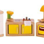 Hape Kitchen Dollhouse Furniture