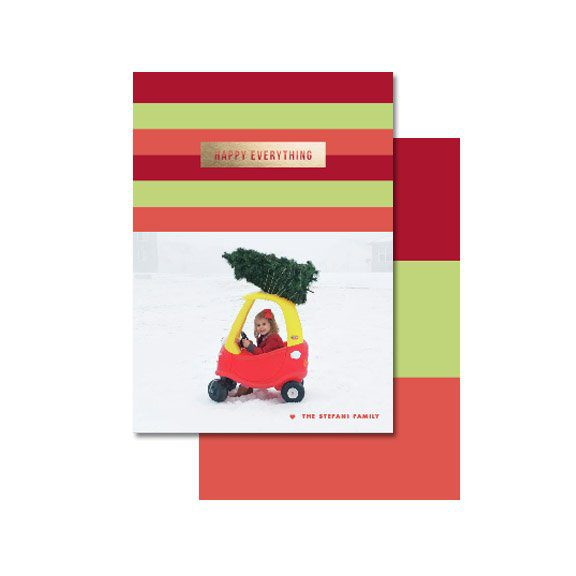 10 Christmas Card Ideas You Should Steal + Free Template Card | Five Marigolds