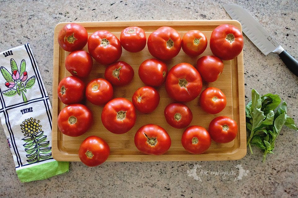 Preserving fresh garden tomatoes is even easier than you think! These step-by-step instructions show you how to freeze your tomatoes in a flash.