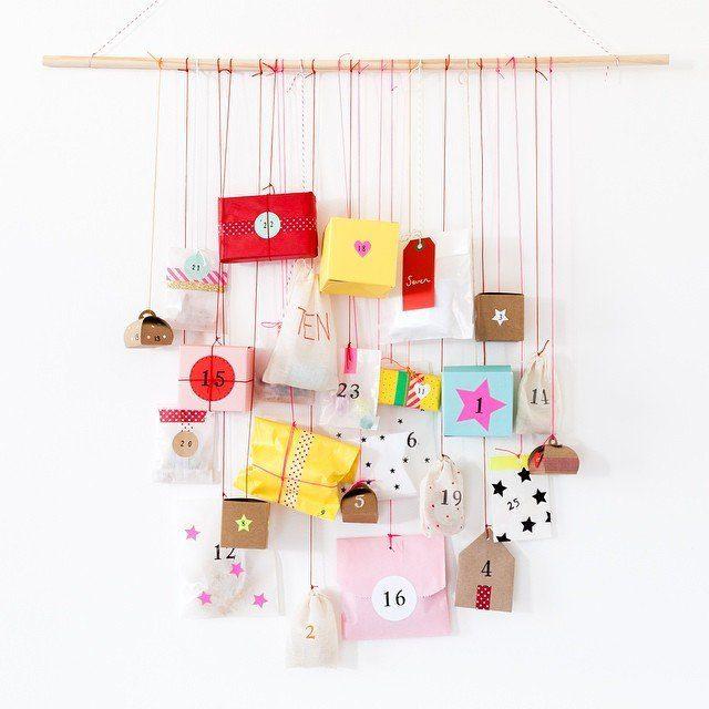 Round-up of Inspiring DIY Advent Calendars | Five Marigolds