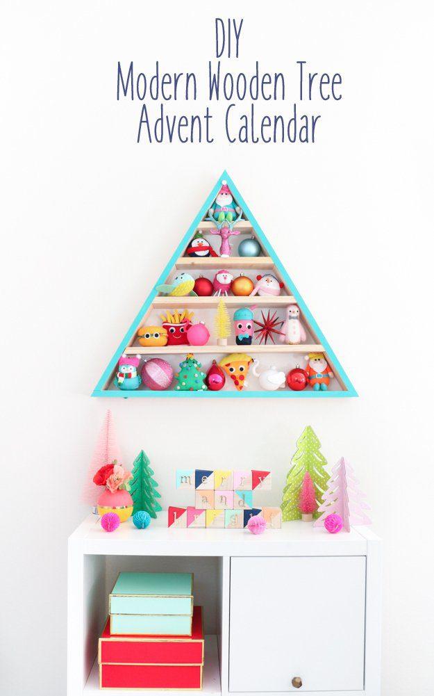 15 Inspiring DIY Advent Calendars   Five Marigolds