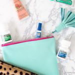Make a no-sew leather clutch with tassel in just 15 minutes! #ad #MoreMomentsWithExcedrin