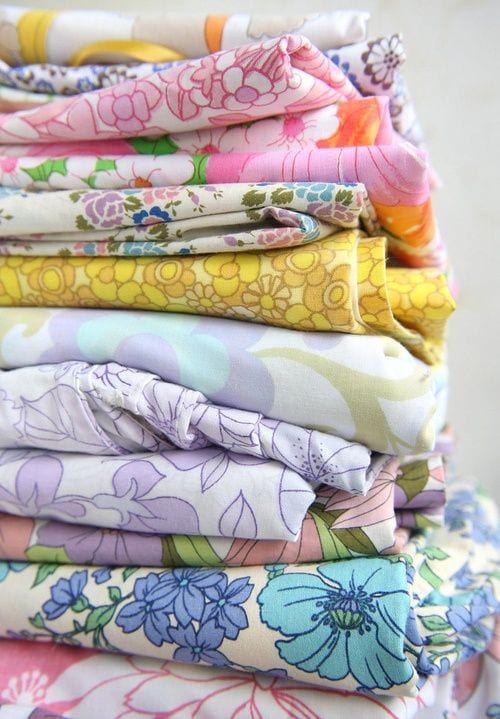 15 Brilliant uses for Vintage Sheets and Linens | Five Marigolds