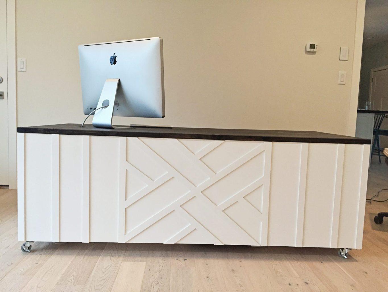DIY Desk: Fixer Upper Reveal