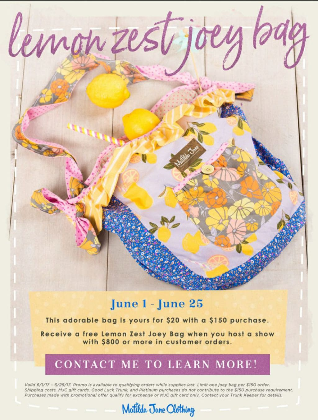 Matilda Jane June 2017 Release | Trunk Keeper #340253 | Five Marigolds