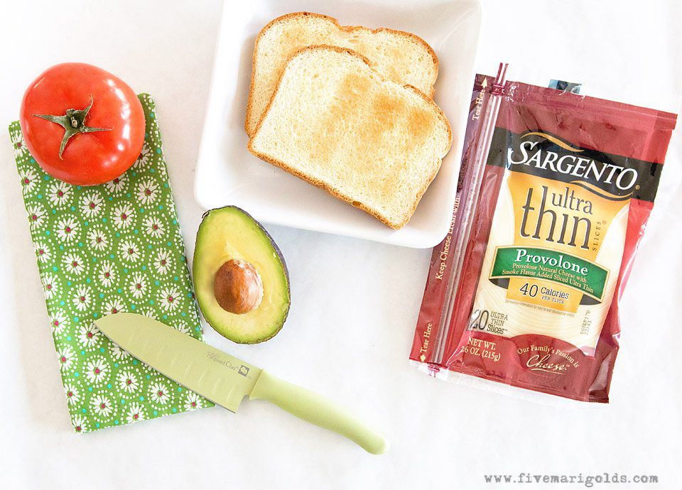 AVOCADO TOAST SANDWICH: Simple Sliced Sandwich | Five Marigolds