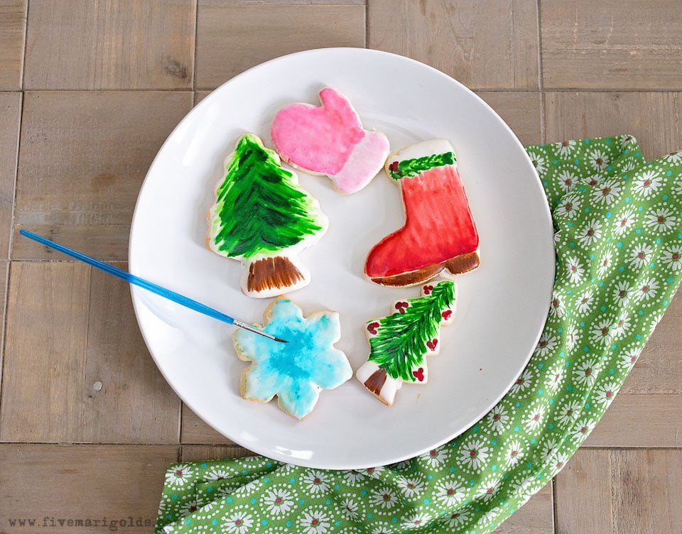 Dippable Royal Icing recipe frosts dozens of cookies in minutes