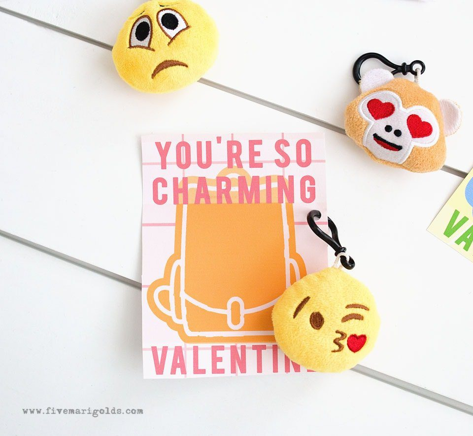 Backpack Charms Valentine's Day Printables