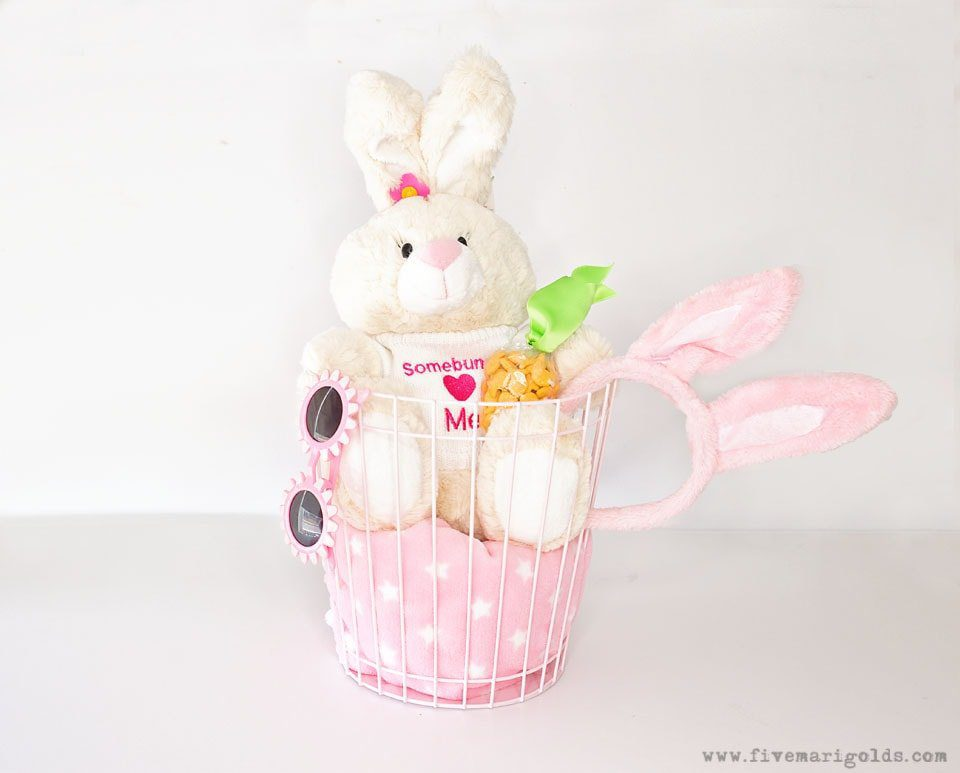 No Candy Easter Basket