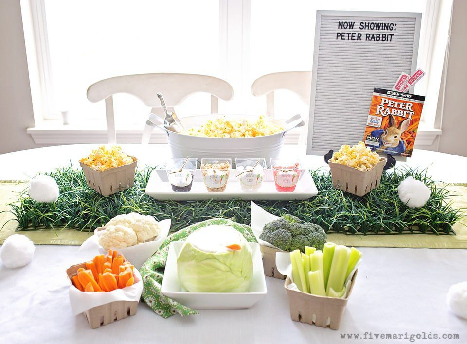 Peter Rabbit Garden Party with Bunny Bar | Five Marigolds