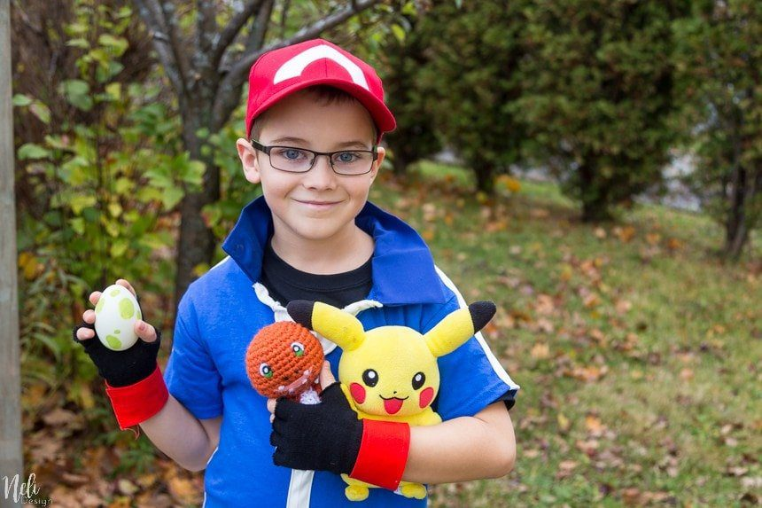 Ash Ketchum DIY Pokemon Halloween Costume