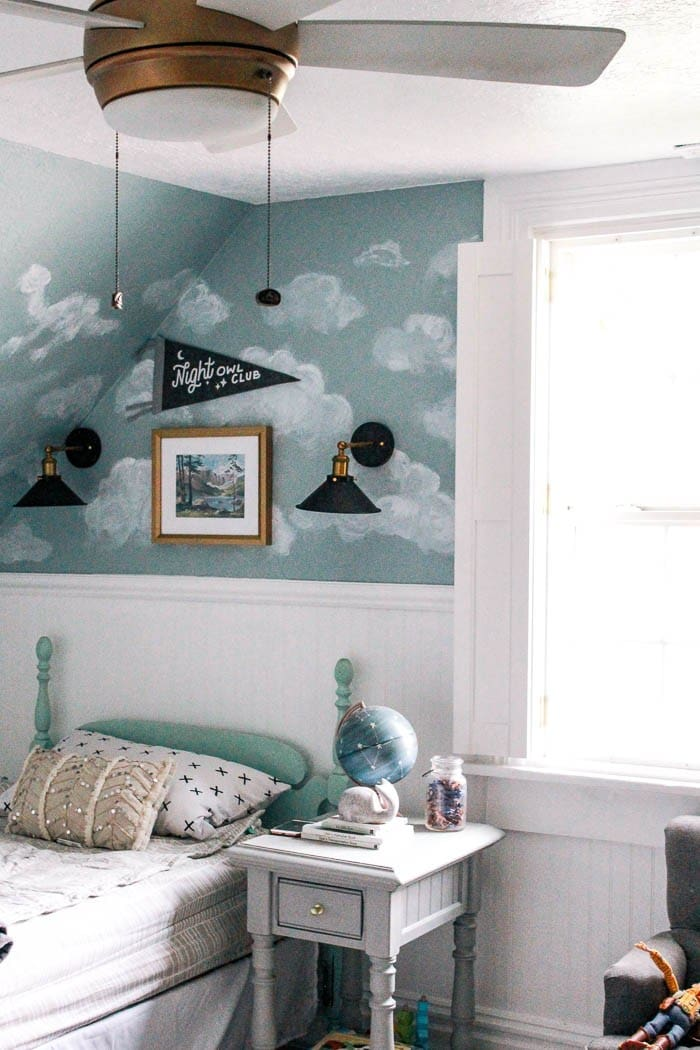 Vintage inspired boy's room | Five Marigolds