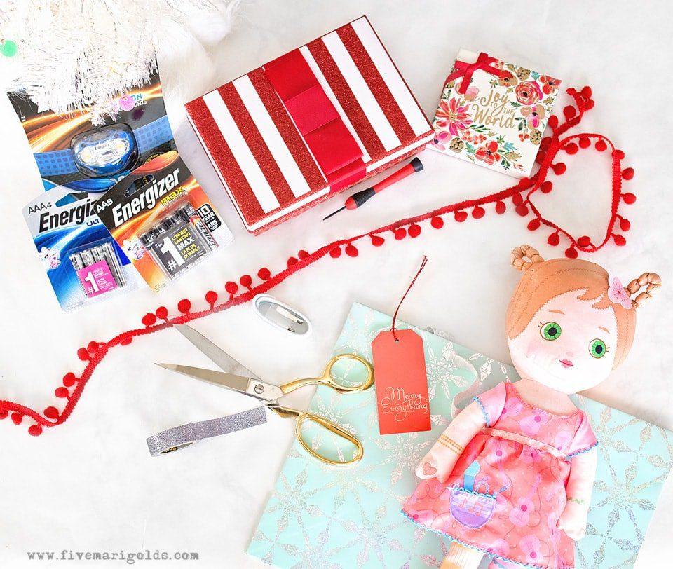 Christmas Morning Emergency Kit | Five Marigolds
