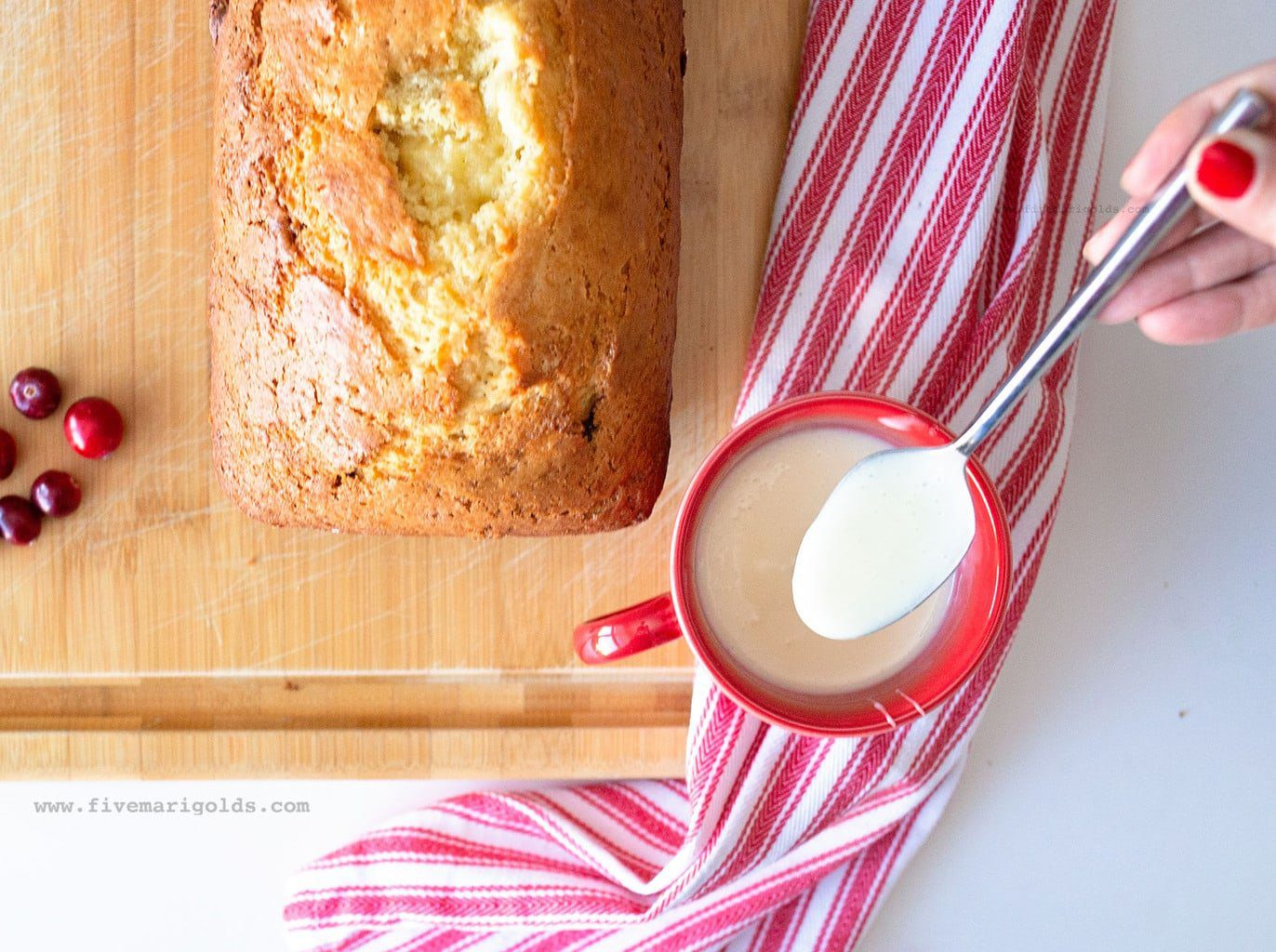 Cinnamon Eggnog Bread Recipe for Christmas | Five Marigolds