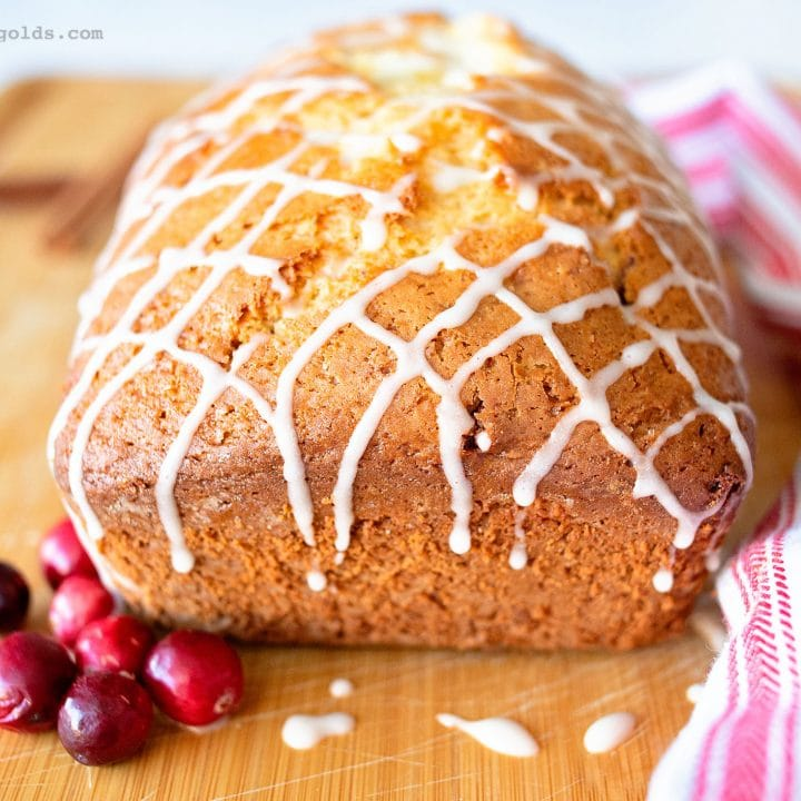 Cinnamon Eggnog Bread Recipe for Christmas | Five Marigolds