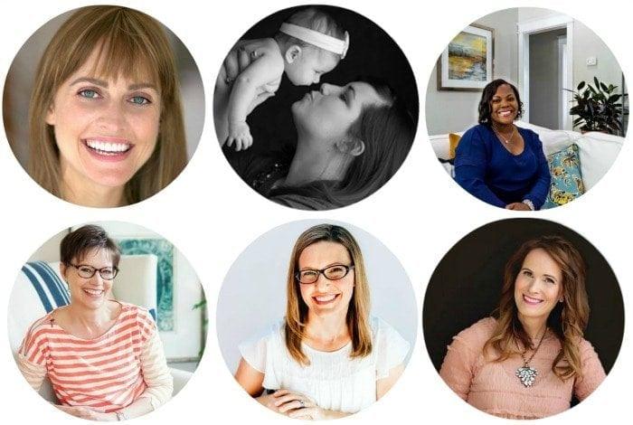 The 6 Creative Circle hosts