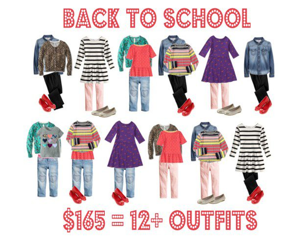 Back To School for less than $165 | Five Marigolds