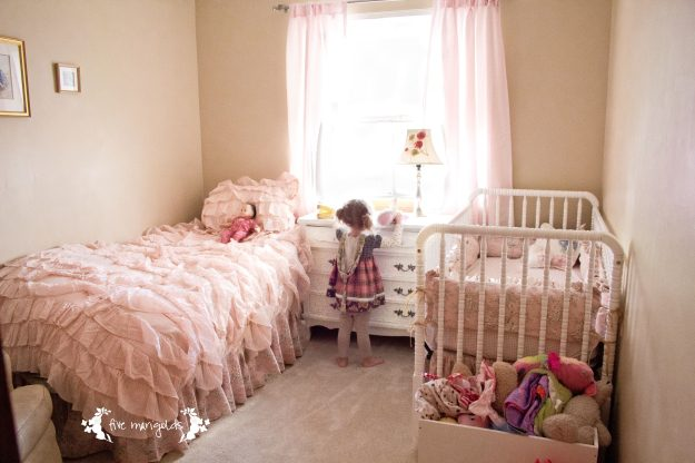 Tiny Spaces Shared Girl Room